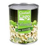 Palmitos En Trozos Ciudad Del Lago  Lata 800 Gr