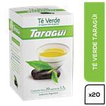 Té Verde TARAGUI Caja 20 Saquitos