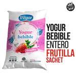 Yogur Entero TREGAR Frutilla Bebible 1 Kg