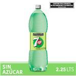 Gaseosa Seven Up Free  Botella 2.25 L