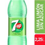 Gaseosa SEVEN UP Free Botella 2.25 L