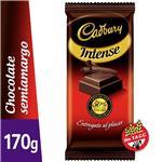 Chocolate Se/Amarg CADBURY Paq 170 Grm
