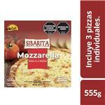 Pizzeta Muzzarella X 3 Sibarita Cja 555 Grm