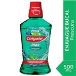 Enjuague Bucal COLGATE  Plax Fresh Mint Botella 500 Ml