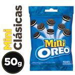Galletitas Rellenas OREO Mini Chocolate Paq 50 Grm