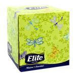 Pañuelos ELITE   Triple Hoja Caja 60 Unidades