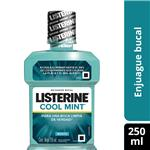 Enjuague Bucal LISTERINE  Cool Mint Botella 250 Ml