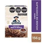Barra De Cereal QUAKER Mousse De Chocolate 6 Uni Est 126 Grm