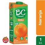 Jugo   BC Naranja Light   Tetrabrik 1 L