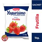 Yogur Bebible Entero Frutilla Yogurisimo Sachet 1 L