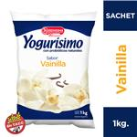Yogur Bebible Entero Vainilla Yogurisimo Sachet 1 L