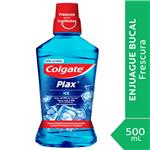 Enjuague Bucal COLGATE Plax Ice Botella 500 Ml