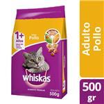 Alimento Para Gato WHISKAS Pollo Y Leche Bol 500 Grm