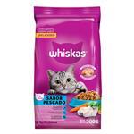 Alimento Para Gato WHISKAS Atun Y Sardina Bol 500 Grm