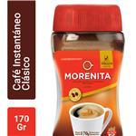 Café Instantáneo La Morenita   Frasco 170 Gr
