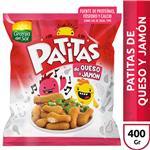 Patitas De Pollo GRANJA DEL SOL Queso Y Jamon Bol 400 Grm
