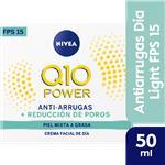 Crema NIVEA Visage Facial Q10 Light Antia Plus Dia Pot 50 Ml