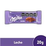 Chocolate Con Leche MILKA Tab 20gr