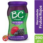 Mermelada Frutos Rojos BC LA CAMPAGNOLA Light Frasco 390 Gr