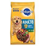 Alimento Para Perro PEDIGREE Adulto Carne/Vegetal Paq 15 Kg