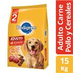 Alimento Para Perro PEDIGREE Carne/Pollo Paq 15 Kg