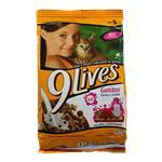 Alimento Para Gato 9 LIVES Carne Y Leche Bol 500 Grm