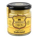 Mostaza Brennan´S Dijon Suave Tradicional Frasco 200 Gr