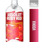 ABSOLUT Ruby Red Vodka Suecia Botella De 750 Ml