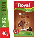 Mousse ROYAL Chocolate Light Sobre 40 Gr