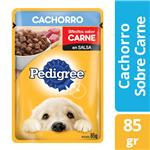 Alimento Para Perro PEDIGREE Carne Cachorro Pou 85 Grm