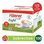 Edulcorante HILERET    Light Caja Sobres X 100