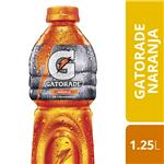 Bebida Isotónica GATORADE Naranja   Botella 1,25 L