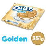 Galletitas Rellenas OREO Golden Paq 333 Grm