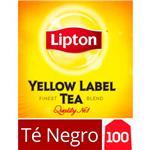 Té Negro LIPTON   Yellow Label Caja 100 Saquitos