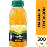 Jugo   Cepita Naranja Tentación   Botella 300 CC