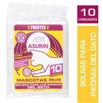 Bolsas De Residuos ASURIN 88 X 38 Piedra Gato Paq 10 Uni