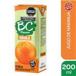 Jugo   BC Naranja Light   Tetrabrik 200 Cc