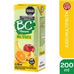 Jugo   BC Multifruta Light   Tetrabrik 200 Cc