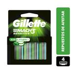 Cartucho GILLETTE Mach3 Sensitive   Blister 4 Unidades