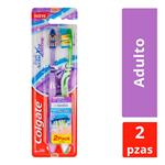 Cepillo Dental COLGATE Triple Acción Blister 2 Unidades