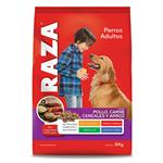Alimento Para Perro RAZA Pollo , Carne, Cereales Y Arroz 8 Kg