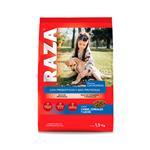 Alimento Cachorros RAZA 1.5 Kg Carne, Cereales Y Leche