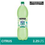 Agua Saborizada Con Gas H2oh!  Citrus Botella 2.25 L