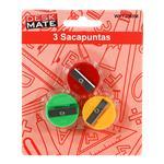 Sacapuntas DESK MATE 3 Unidades