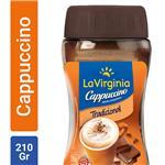 Cappuccino Instantáneo LA VIRGINIA   Frasco 210 Gr