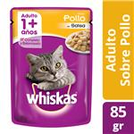 Alimento Para Gato WHISKAS Pollo Pou 85 Grm