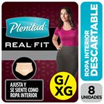 Ropa Interior Plenitud Mujer Real Fit G/Xg X8