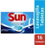 Detergente En Tabletas SUN Para Lavavajilla Caj 288 Grm
