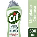 Limpiador CIF Cremoso Con Lavandina Bot 750 Grm