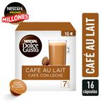 Café En Capsulas NESCAFE Café Au Lait Caja 16 Unidades